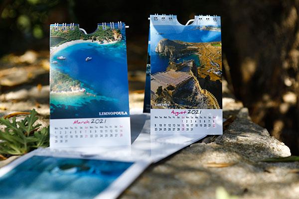 Calendars books